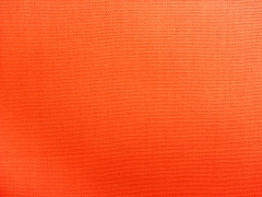 Canvas Stoff uni, orange
