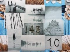 Dekostoff maritime Impressionen (Half Panama)