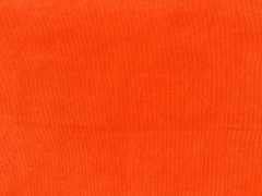 Feincord uni - orange