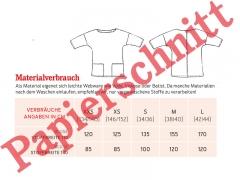 Schnittmuster Taschenbluse Frau Aiko Studio Schnittreif