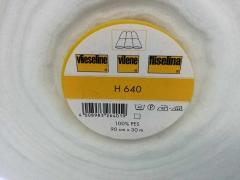 H 640 aufbügelbares Volumenvlies Freudenberg, weiß