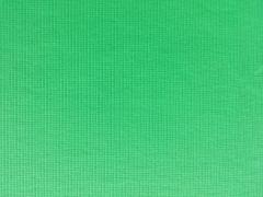 glattes Bündchen uni - leuchtend grün