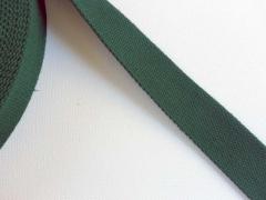 Gurtband Baumwolle PL, 3 cm breit, dunkelgrün