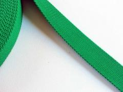 BW Polyester Gurtband 3,2 cm breit, grasgrün
