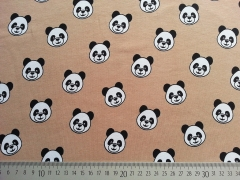 Jersey Panda Pleasure, beige