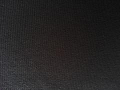 Jerseystoff uni, schwarz