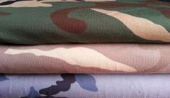 Jersey Army Print Camouflage - blau