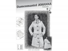 Schnittmuster Damenmantel Johanna Farbenmix