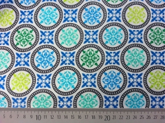 Kabloom  Blue Mosaic-blau/weiß