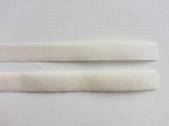 Klettband Klettverschluß  2 cm, creme-weiss