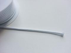 Kordel 5 mm breit- weiß