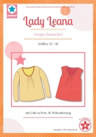 Lady Leana Damenshirt Schnittmuster Mialuna