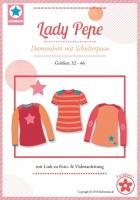Lady Pepe Shirt mit Schulterpasse Schnittmuster