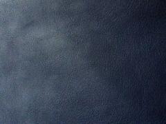 Leder Imitat Meterware - dunkelblau