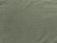 RESTSTÜCK 48 cm Leichter Jeans mit Schlangenleder Look, oliv