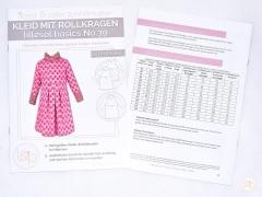 Lillesol No.39 Kleid mit Rollkragen Schnittmuster