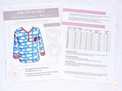 Lillesol Basics No.24 Knopfshirt Schnittmuster