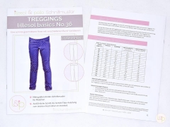 Lillesol Basics No.36 Treggings Schnittmuster