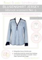 Lillesol No.5 Blusenshirt Jersey Schnittmuster