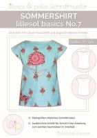 Lillesol No.7 Kinder Sommershirt Schnittmuster