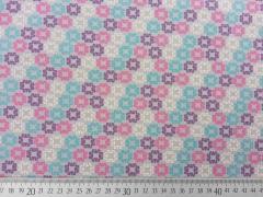 Megan Blue Jersey Clicks, pink/lila auf mittelgrau