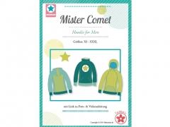 Mister Comet Hoodie für Herren Schnittmuster