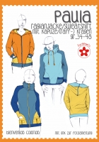 Paula Raglanjacke Sweatshirt Papierschnittmuster