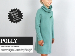 Polly Sweatkleid Rollkragen Schnittmuster