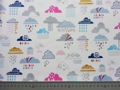 Dashwood Rain or Shine Wolken - bunt/weiss