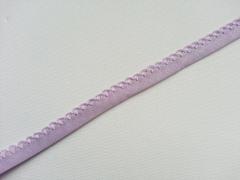 Schrägband Häkelkante, 14 mm, flieder