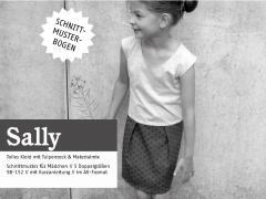 Sally Trägerkleid Schnittmuster