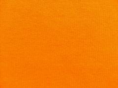 angerauter Sweat, kräftiges Orange