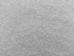 RESTSTÜCK 26 cm Sweatstoff, grau melange
