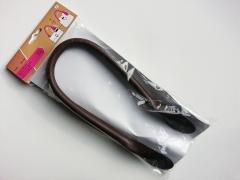 Taschenhenkel 60 cm Kunstleder, dunkelbraun