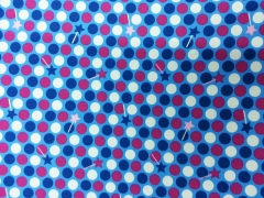 Blaubeerstern Jersey Fiona Fee - Dots, türkis