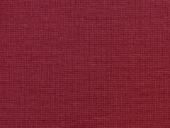 glattes Bündchen - weinrot