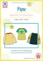 Pepe Kindershirt mit Schulterpasse Schnittmuster