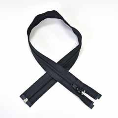 Reißverschluss teilbar 55 cm, schwarz