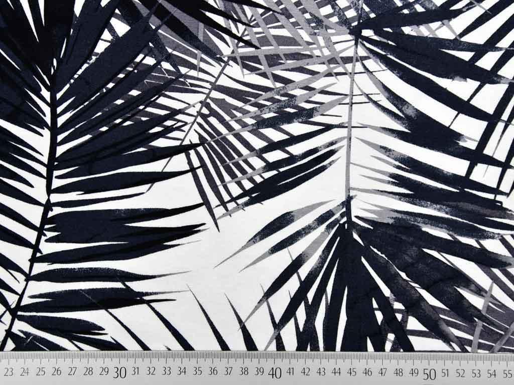 5b19ee0019fdc6 Viskosejersey große Palmblätter
