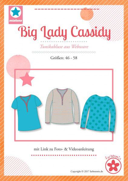 Big Lady Cassidy Plus-Size Damentunika Schnittmuster - Wunderland ...