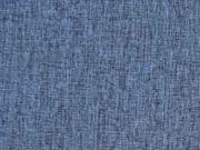 RESTSTÜCK 73 cm melierter Softshell Jackenstoff,  jeansblau meliert