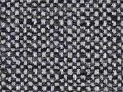 Taschenstoff Weave grau anthrazit