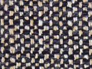 RESTSTÜCK 44 cm Taschenstoff Weave,  schwarz camel