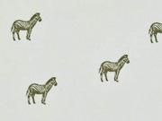 Viskose Zebras, hellkhaki
