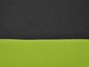 Softshell Stoff uni, dunkelgrau kiwi