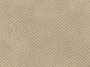 RESTSTÜCK 32 cm Lederimitat Noppen Filzrücken, beige