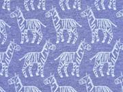 Jersey Zebras, jeansblau