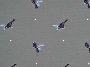 Sweat Vögel klein, dunkelgrau
