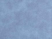 RESTSTÜCK 30 cm Lederimitat Noppen Filzrücken, hellblau