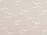 Jersey Möwen, weiß sand